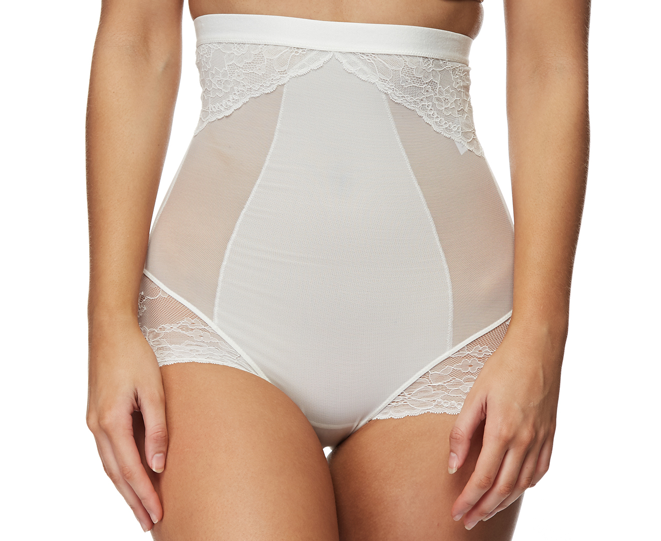 3d676f9310 Spanx Women s Spotlight On Lace High-Waisted Brief - White