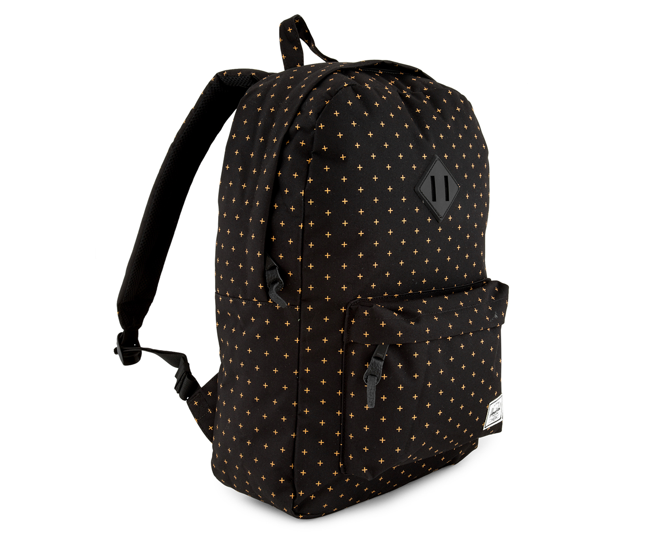 d17ecd0b1f Herschel Supply Co. 21.5L Heritage Backpack - Black Gridlock Gold ...