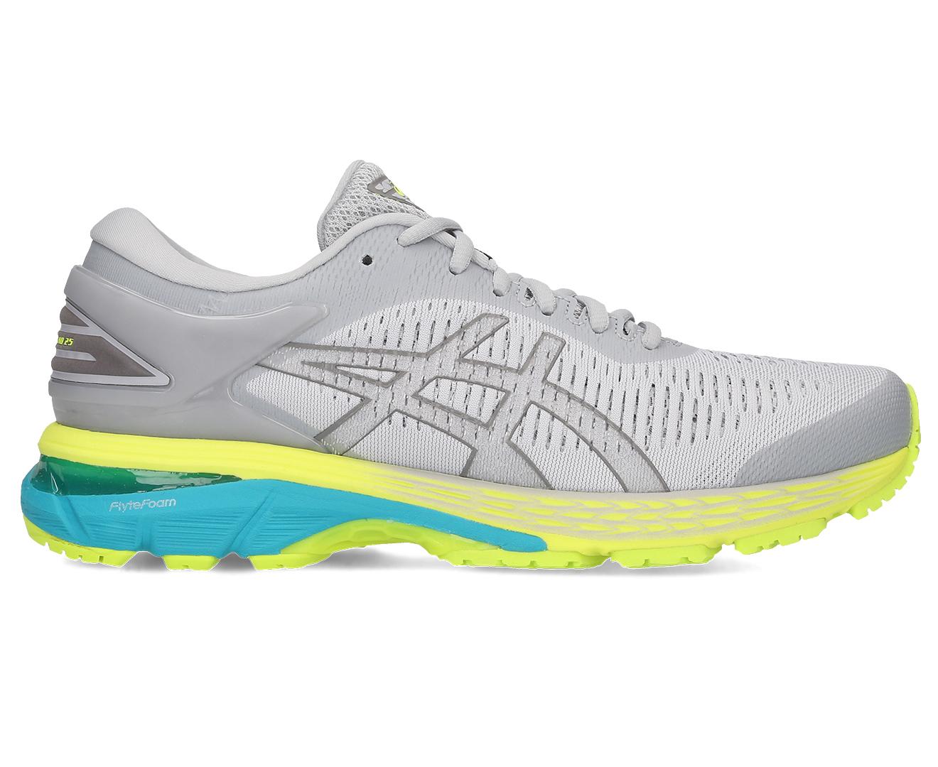 ASICS Women's Gel Kayano 25 Running Shoe (Mid GreyCarbon, Size 9) | Shoes |