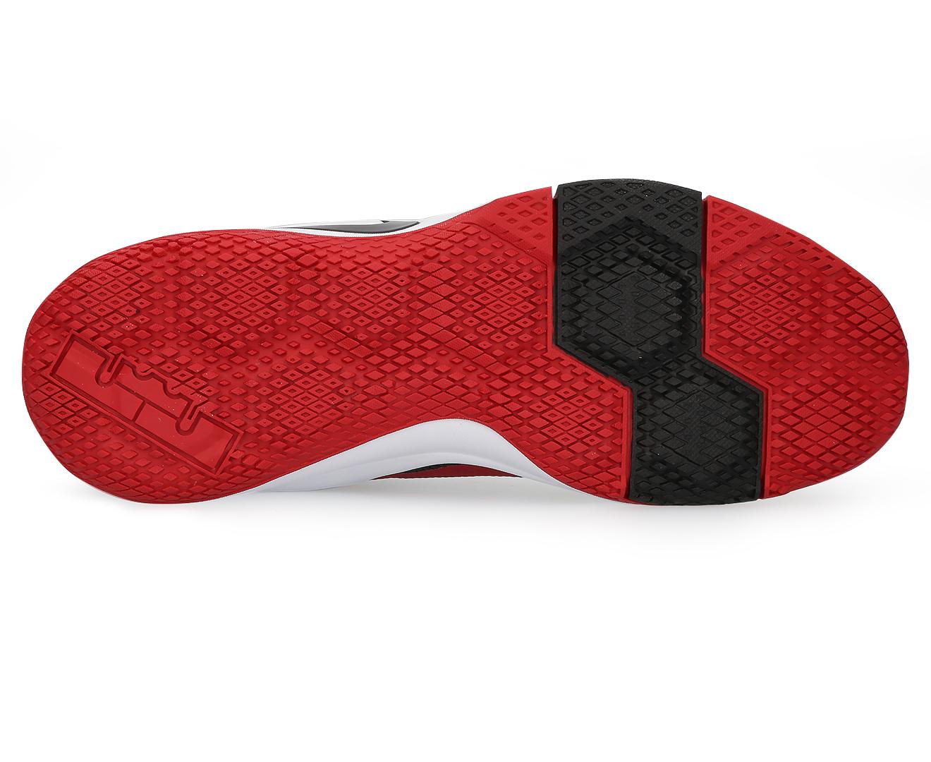 a8e73278 Nike Men's Lebron Witness II Shoe - Black/White/Gym Red | Catch.com.au