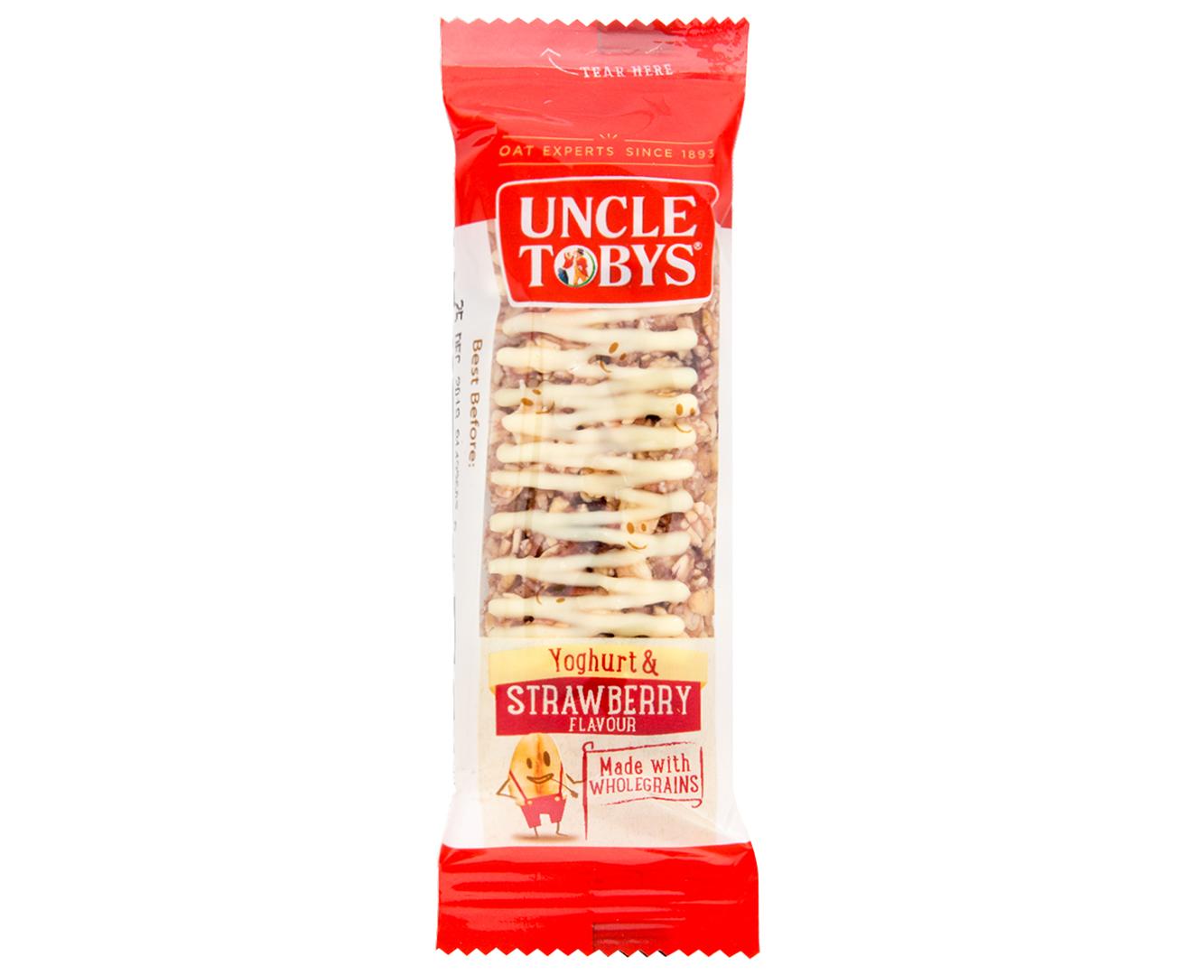 3 x Uncle Tobys Yoghurt Muesli Bars Strawberry 6pk   Catch ...