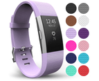 Yousave Fitbit Charge 2 Strap Single (Small) - Lilac 1