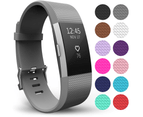 Yousave Fitbit Charge 2 Strap Single (Small) - Grey 1