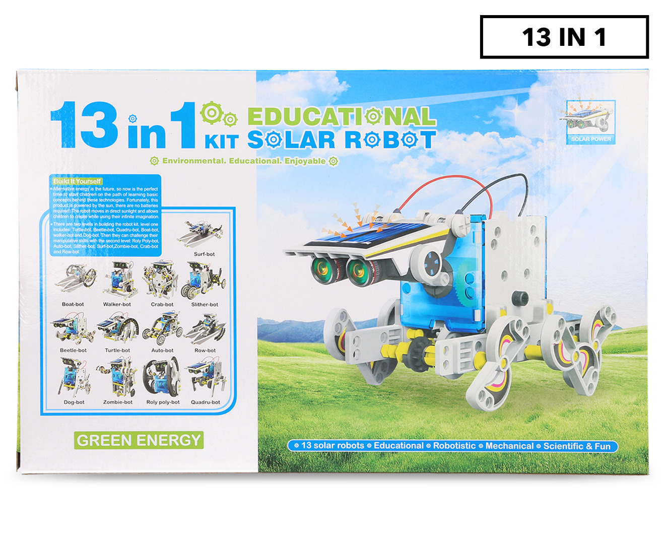 13-in-1 Educational Solar Robot Kit   Scoopon Shopping