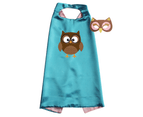 Book Day Costume Animal Cape and Mask Set for Kids - Owl 1