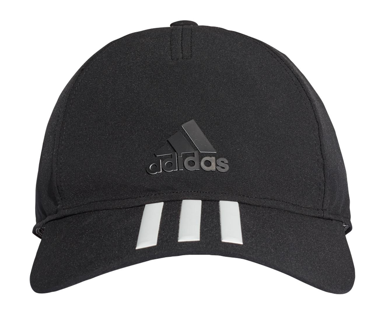 a88b5570f65 Adidas C40 3-Stripe Climalite Cap - Black Black White 4059326507072 ...