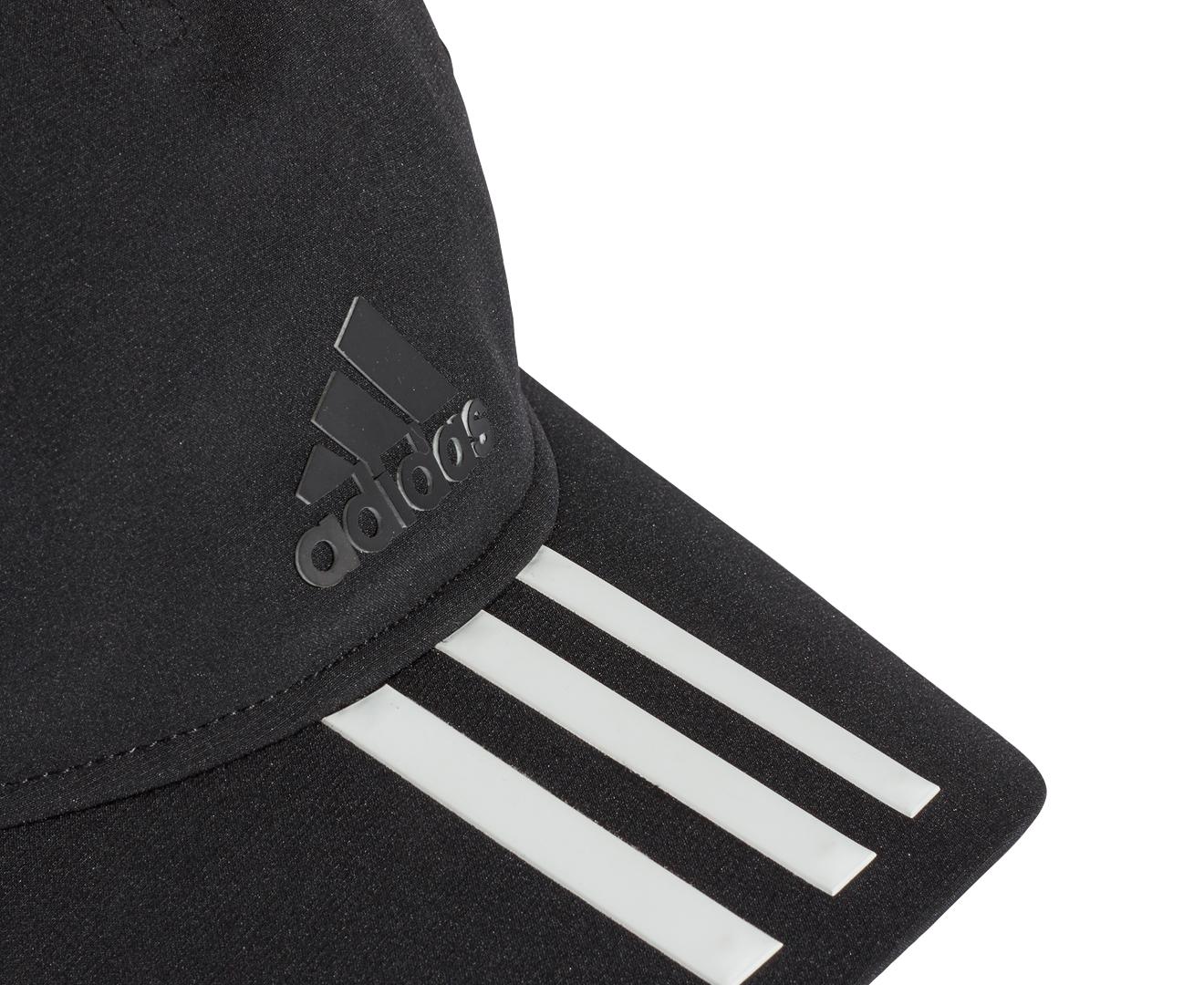 8c672c44549 Adidas C40 3-Stripe Climalite Cap - Black Black White