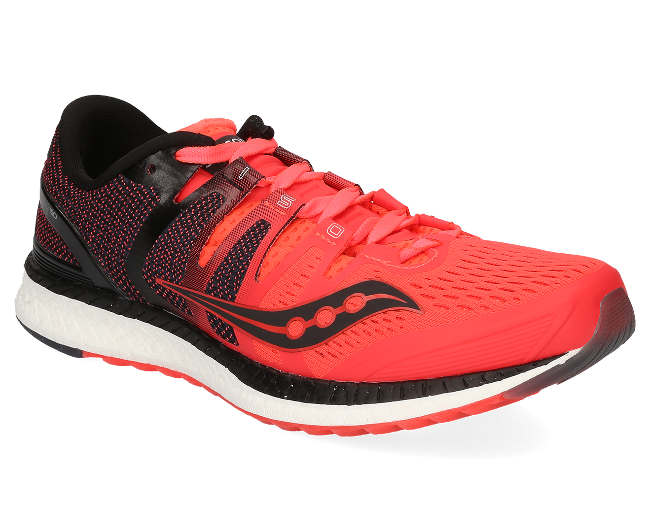 16abdab22149 Saucony Women s Liberty ISO 4 Shoe - Vizi Red Black Grey