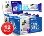 12 x Optimum Nutrition Protein Cake Bites Blueberry Cheesecake 63g 1