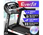 Everfit Electric Treadmill Auto Incline Home Gym Exercise Machine Fitness 3