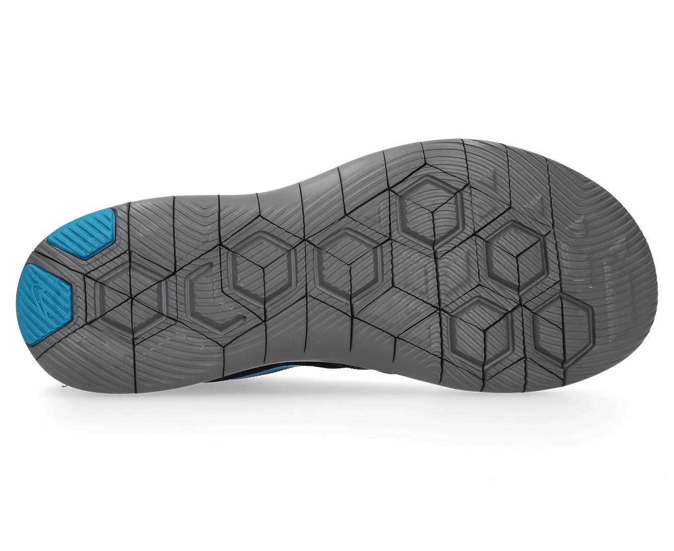 676d1d2883b04 Nike Boys  Grade-School Flex Contact Shoe - Black Neon Turquoise-Dark Grey
