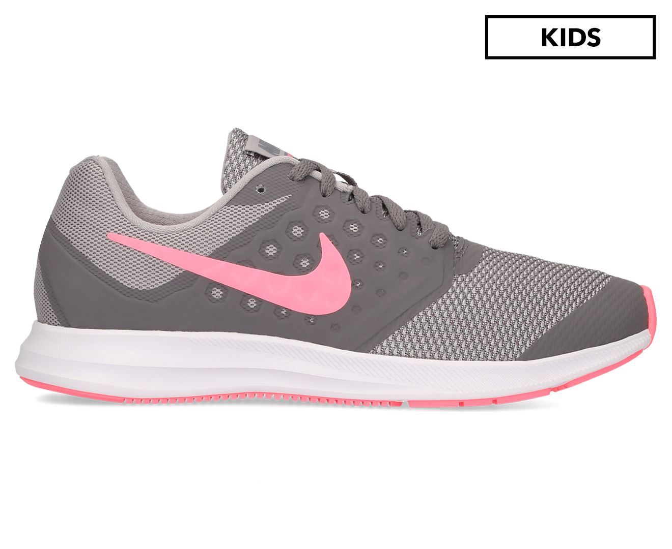 59995a5595af Nike Girls  Grade-School Downshifter 7 Shoe - Gunsmoke Sunset Pulse ...