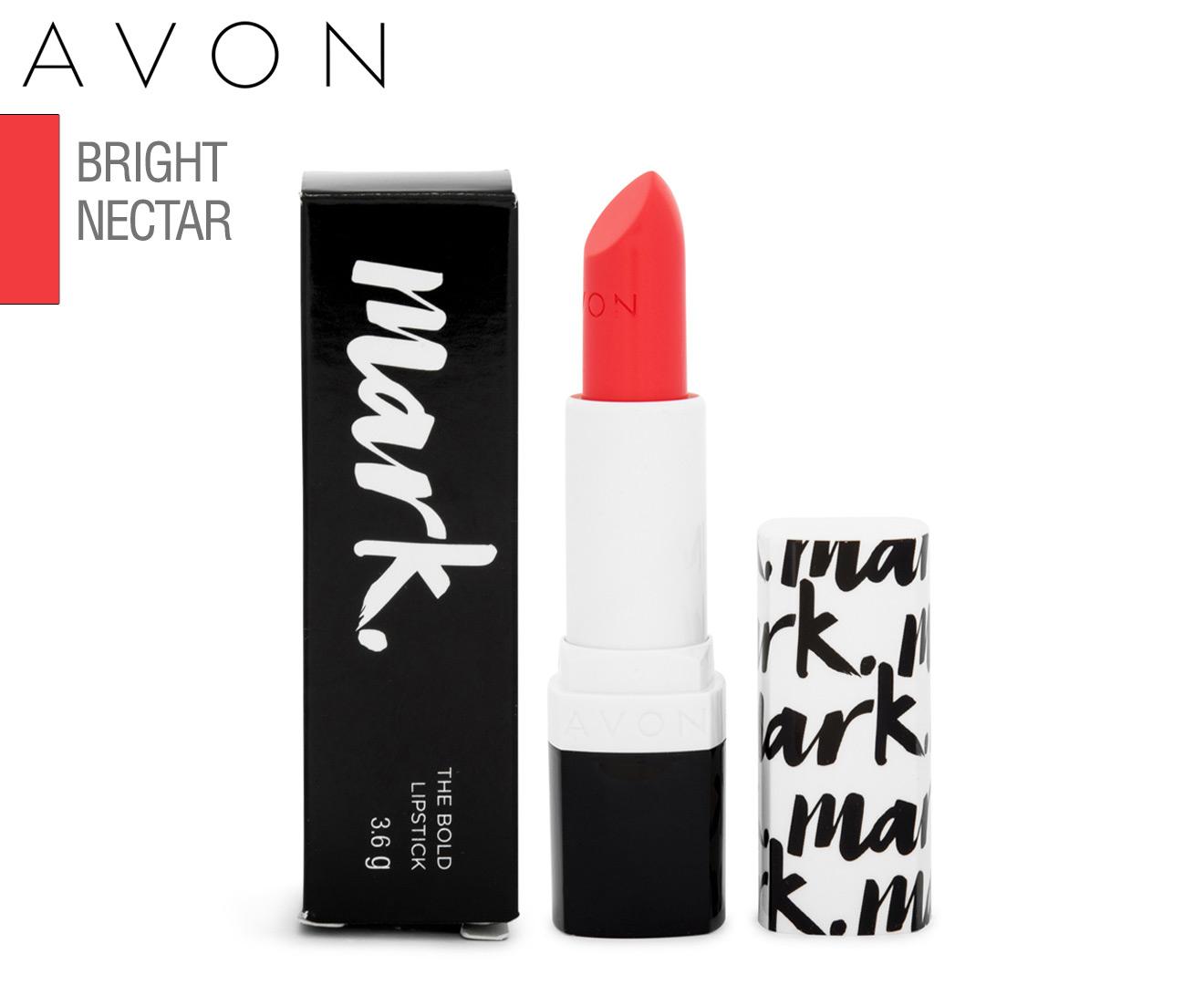 Avon Mark The Bold Lipstick 36g Bright Nectar Catchcomau