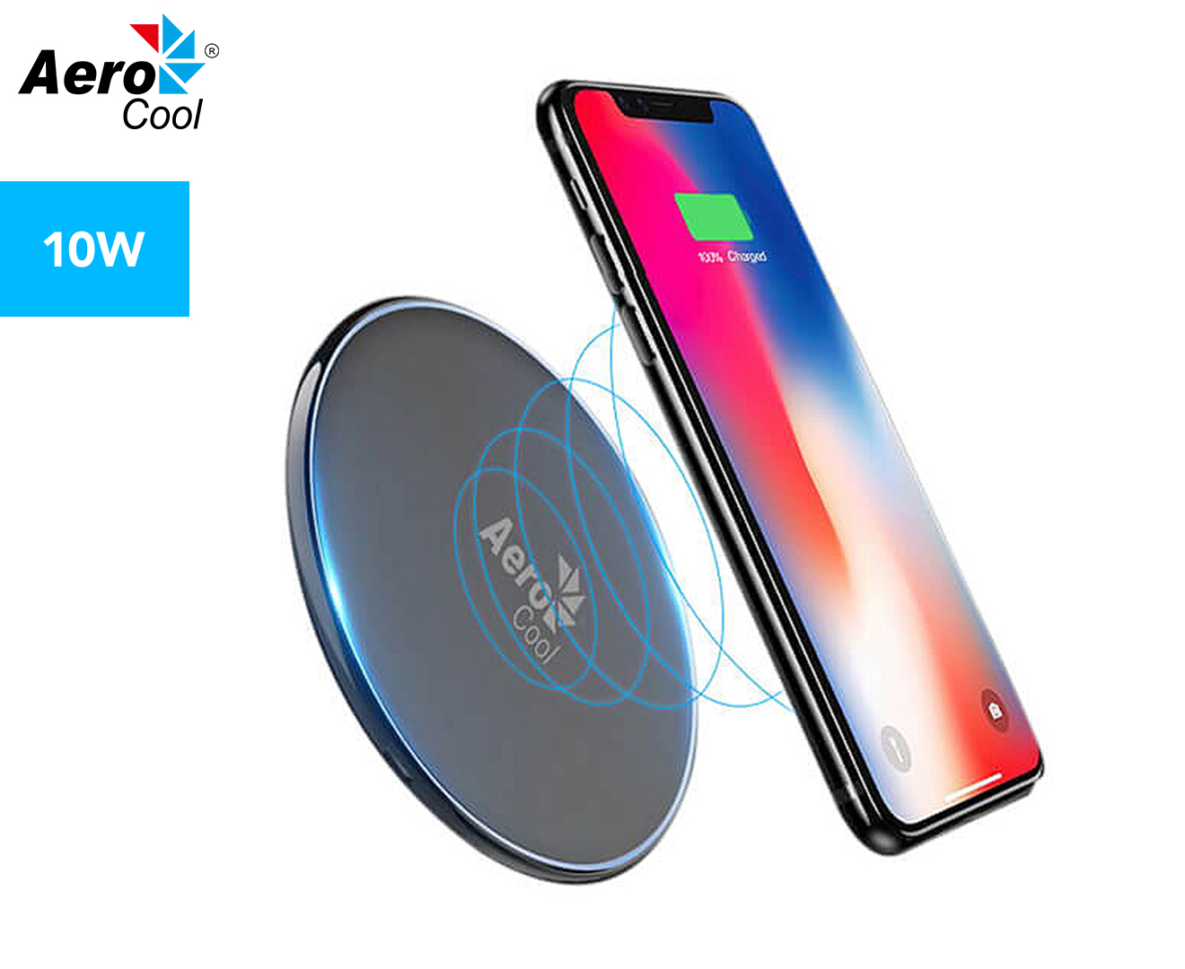 WIRELESS CHARGER SLIMLINE WITH LED LIGHT | Gifts for teenage boys |Beanstalk Mums