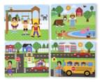 Melissa & Doug Wooden Magnetic Matching Picture Game 4