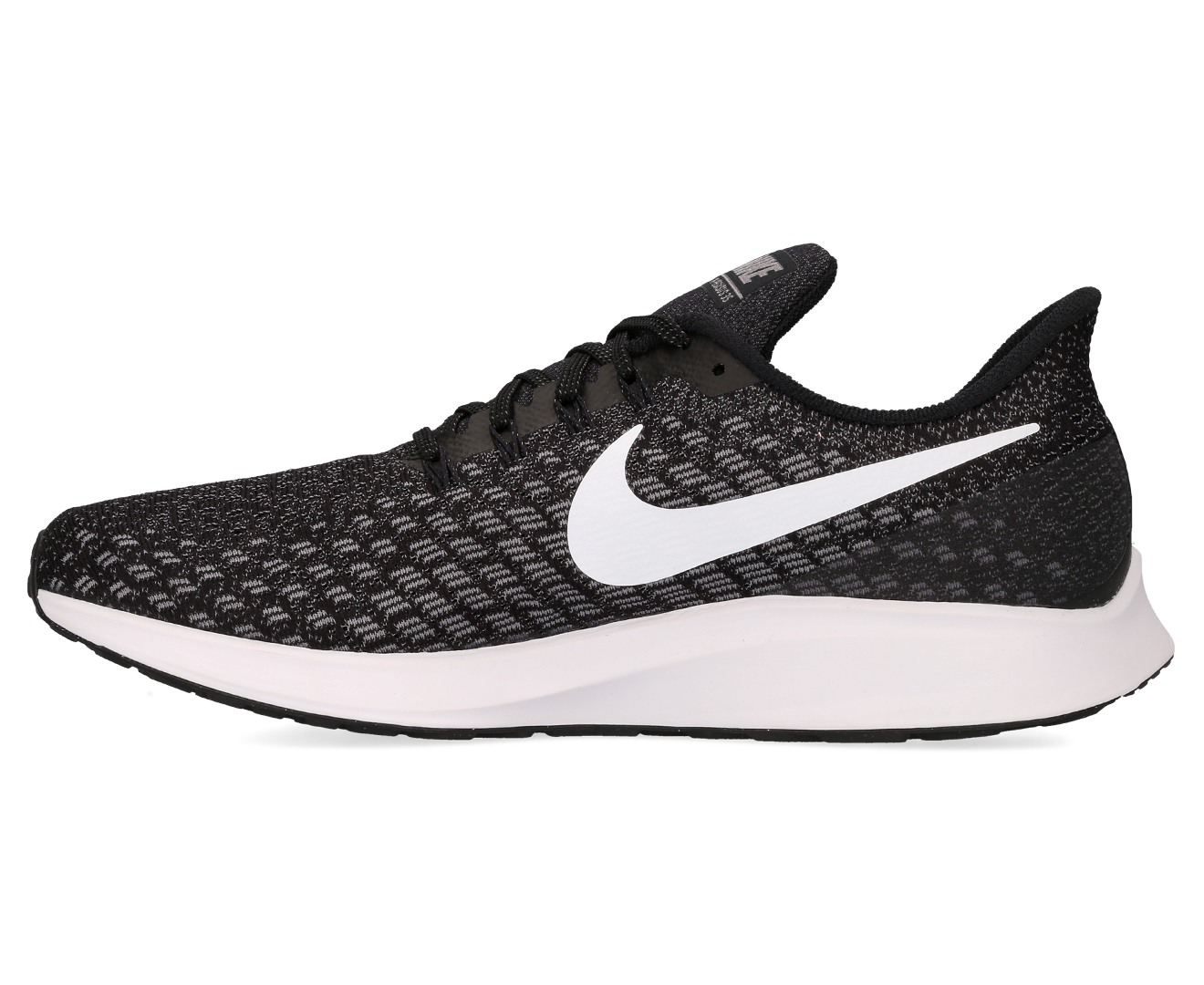 9d757a5f6e6f Nike Men s Air Zoom Pegasus 35 Shoe - Black Gunsmoke Oil Grey White ...