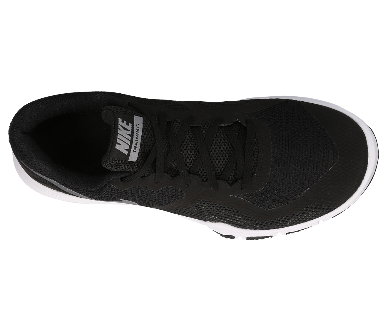 a21b22f6d666 Nike Men s Flex Control II Shoe - Black Metallic Cool Grey