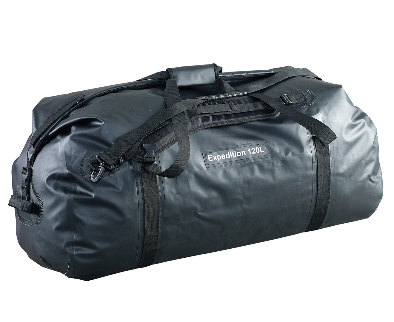 NEW CARIBEE EXPEDITION WET ROLL BAG 120L TRAVEL ADVENTURE CAMP WATERPROOF BLACK