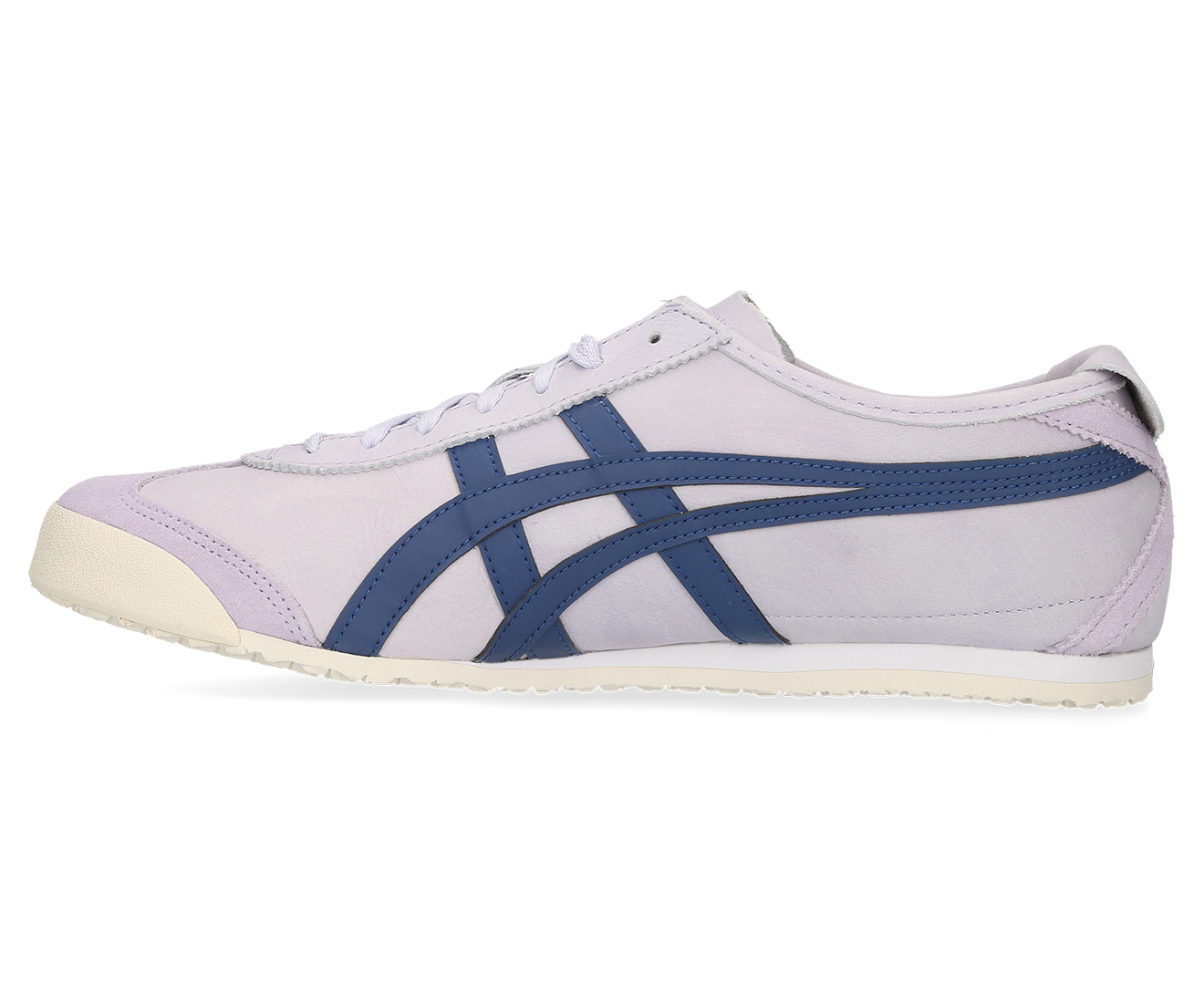 hot sale online 95ed3 22f35 Onitsuka Tiger Unisex Mexico 66 Shoe - Lilac Opal/Midnight Blue
