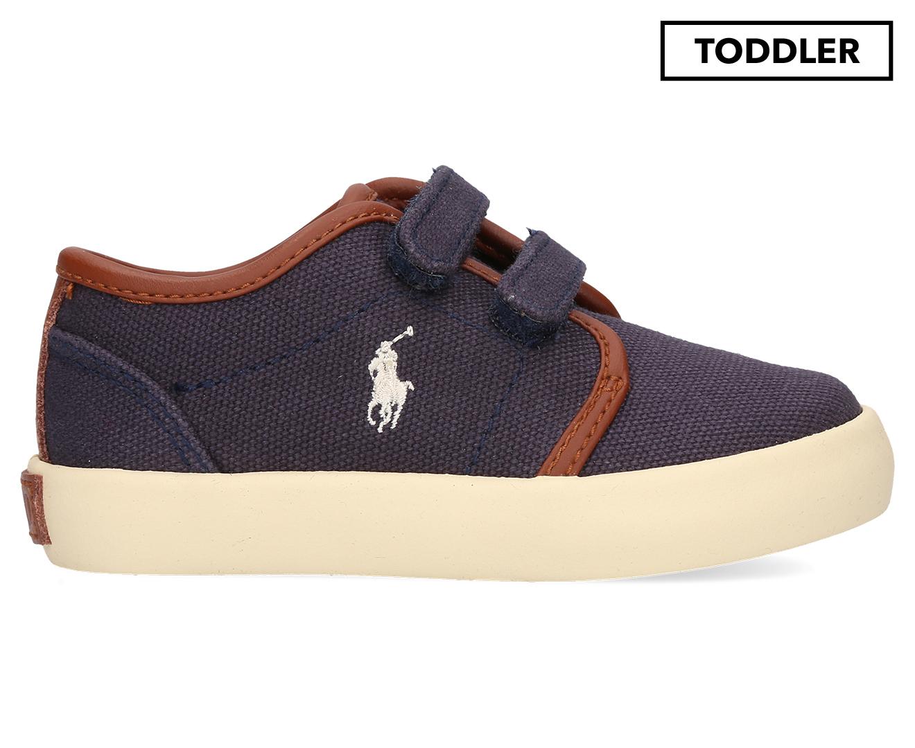9324f393 Polo Ralph Lauren Toddler Ethan Low EZ Shoe - Navy   Catch.co.nz