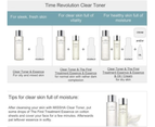 Missha Time Revolution Clear Toner 250ml Fermented Yeast Extract 3
