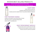 Missha Time Revolution Clear Toner 250ml Fermented Yeast Extract 4