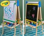Crayola Kids' Double Sided Wooden Art Easel 1
