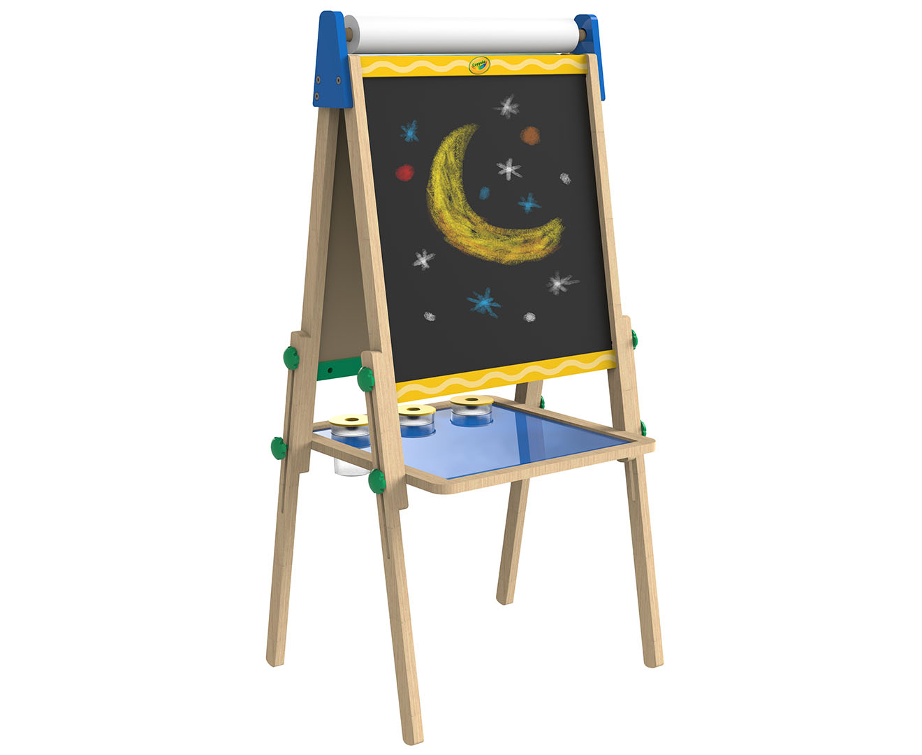 Crayola Kids Double Sided Wooden Art Easel Scoopon Shopping