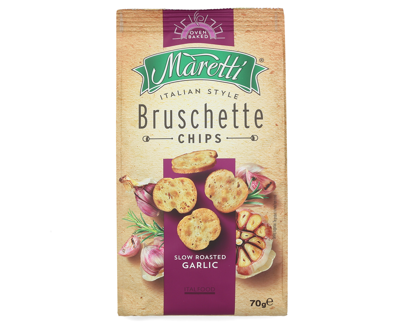 Maretti bruschette chips slow roasted garlic g catch