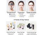 Innisfree Jeju Volcanic Color Clay Mask 70ml (White - Refining) Sebum Control Wash Off Pack 3