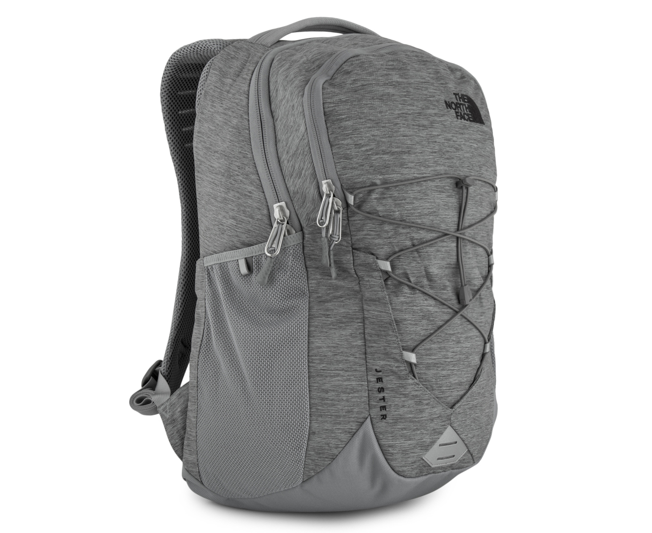 0c38295d The North Face Jester Backpack Mid Grey Dark Heather | Building ...