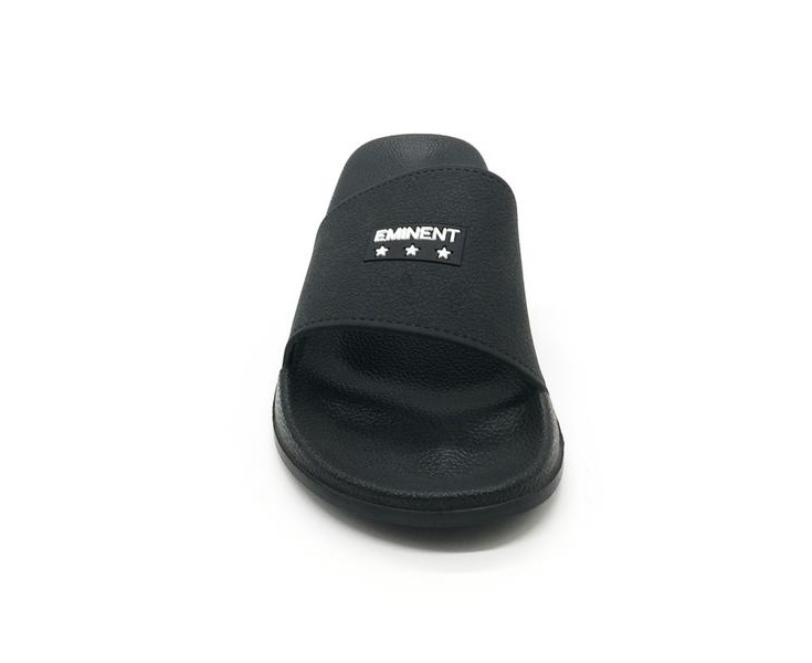 ATLANTIS SHOES Men's Tommib Waterproof Pool Slides Sandals - Black