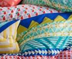 KAS Ellie Double Bed Reversible Quilt Cover Set - Multi 4