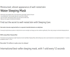 Laneige Water Sleeping Mask 70ml Overnight Gel Mask Pack Korean Skin Care 2