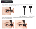 Etude House Dual Wide Eyes Mascara (#1 Black x Black) 5g / 3.5g Waterproof Smudge Proof 5
