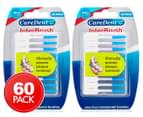 2 x CareDent InterBrush Small / 1.5-3.5mm 30-Pack 1
