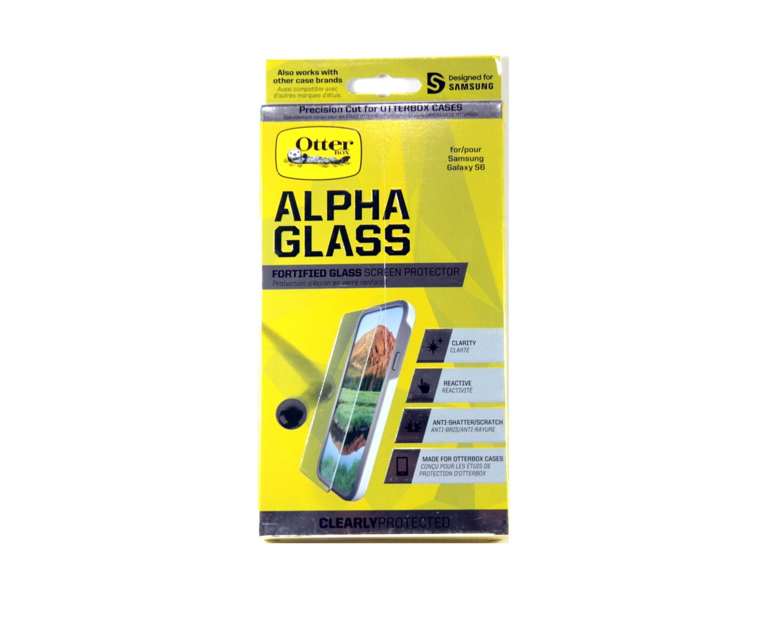 best loved f6955 2e532 OtterBox Clearly Protected Alpha Glass for Samsung Galaxy S6