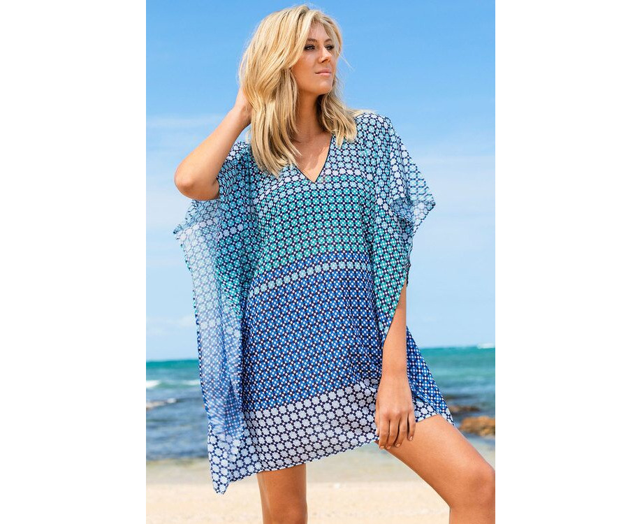 a363e82d0a Womens Capture Swimwear Kaftan Print | Catch.com.au