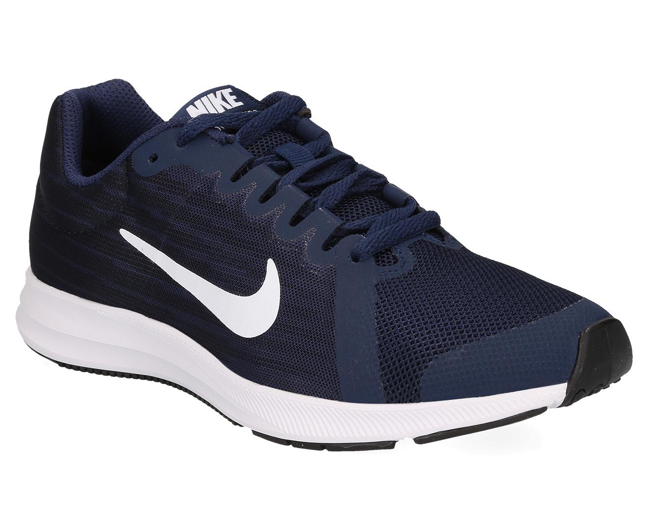 3a062540fbc Nike Grade-School Boys  Downshifter 8 Shoe - Midnight Navy White ...