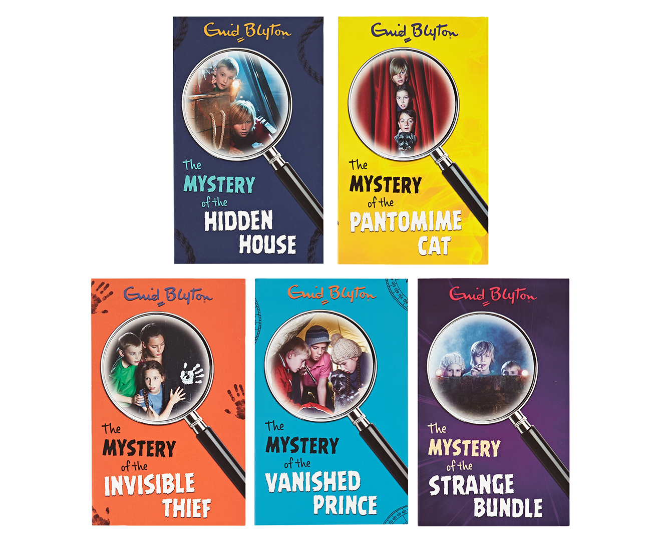 Enid Blyton 15 Book Classic Mystery Stories Collection Of The Vanished Prince