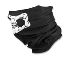 WJS 2PCS Of Multi-function Variety Skull Magic Scarf Mask Warm Scarf Halloween Props 3