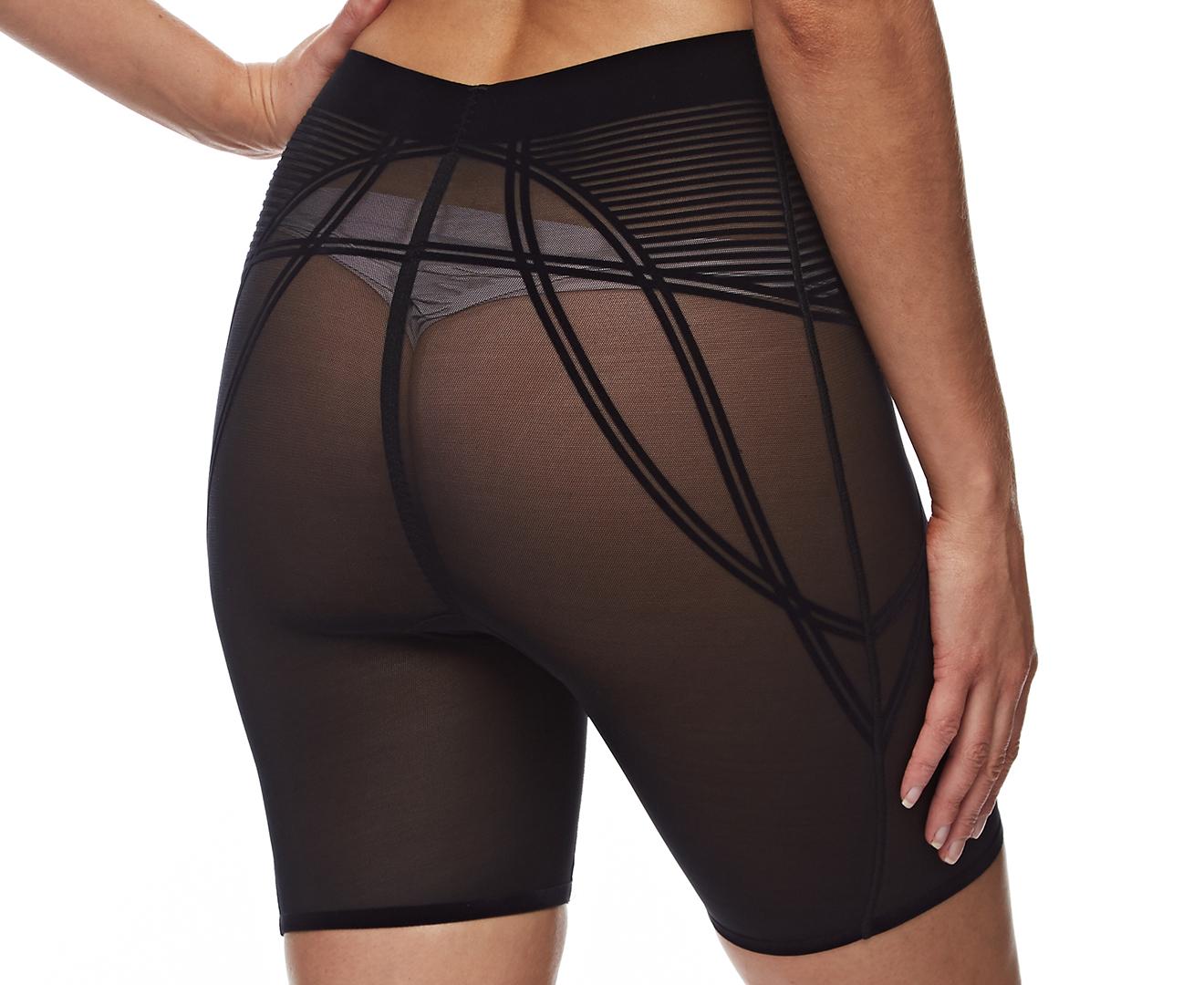 b1a52703470a8 Nancy Ganz Women s Sheer Decadence Shaper Short - Black