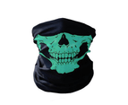 Select Mall 2PCS Of Multi-function Variety Skull Magic Scarf Mask Warm Scarf Halloween Props 1