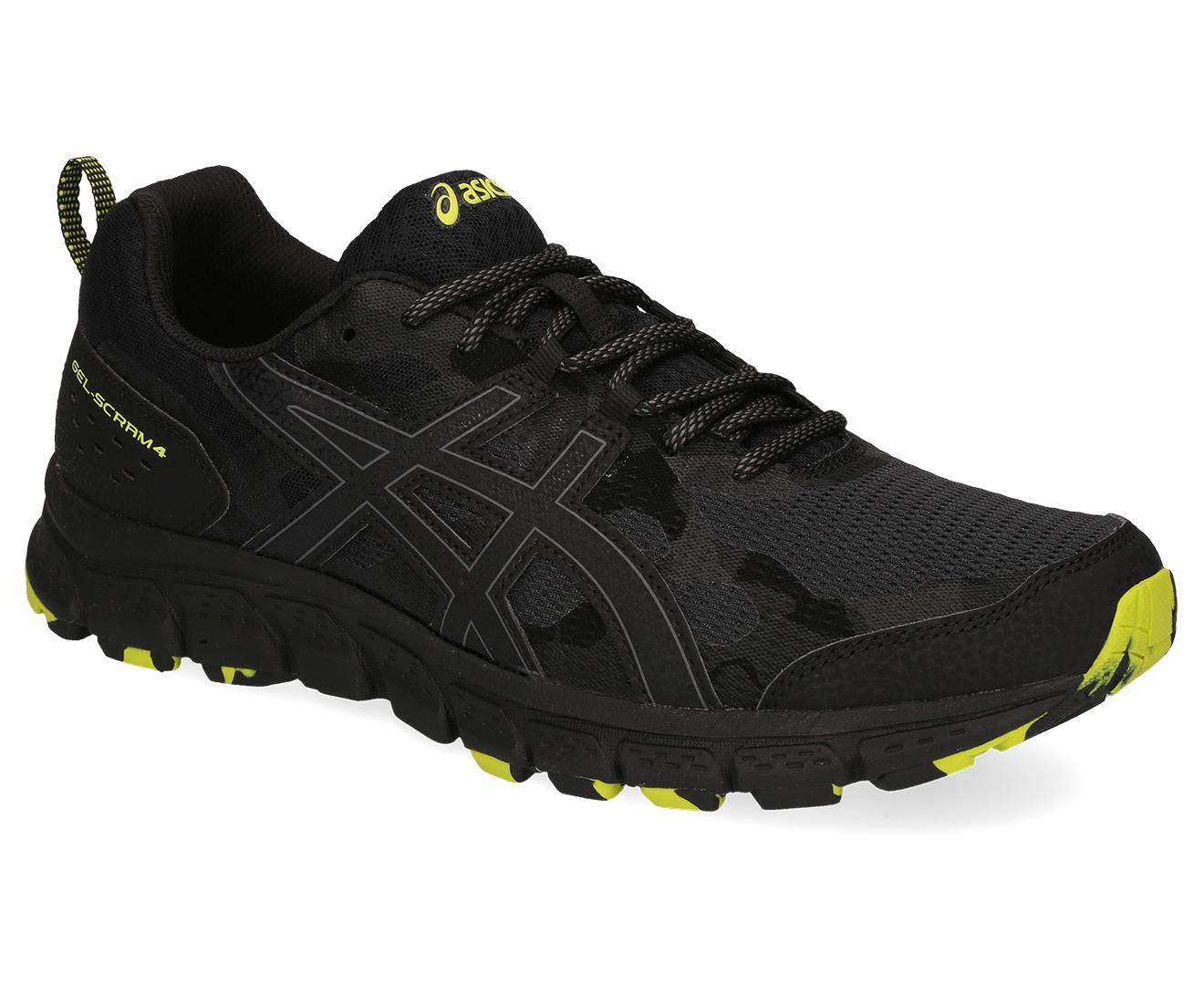 ASICS Men's GEL Scram 4 Shoe BlackBlack