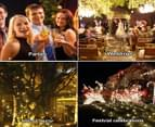 40PCS Festoon String Lights Kits Wedding Party Christmas Waterproof Outdoor 3