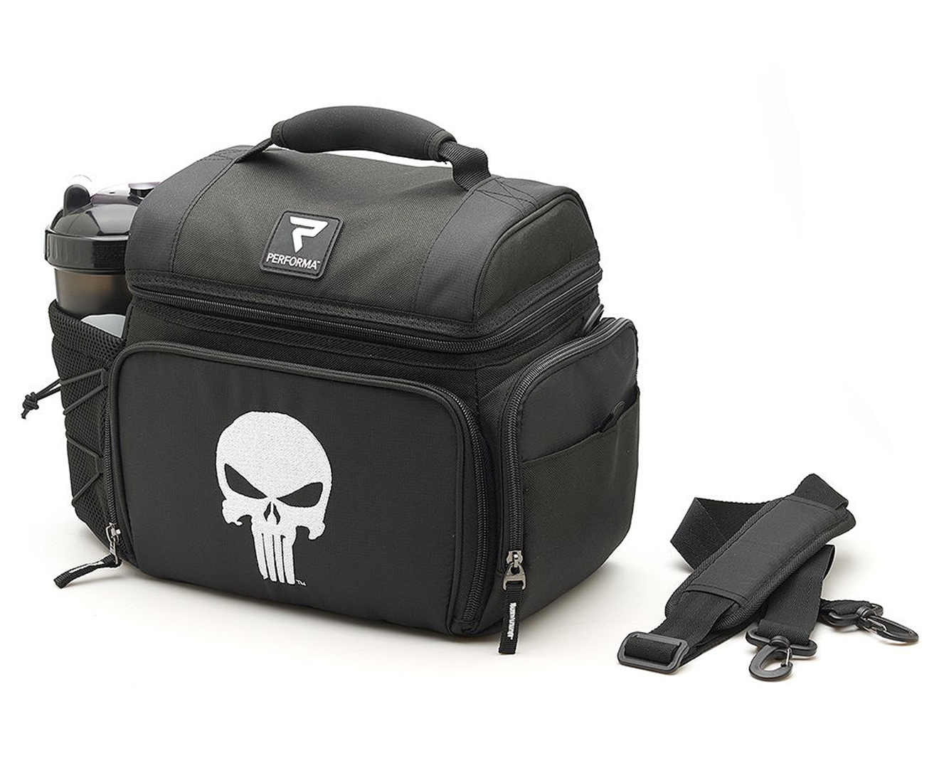 c7542c01c5 Performa Matrix Marvel The Punisher All-In-1 6 Meal Prep Bag