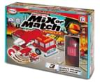 Popular Playthings Magnetic Mix Or Match Fire Rescue Vehicles  1