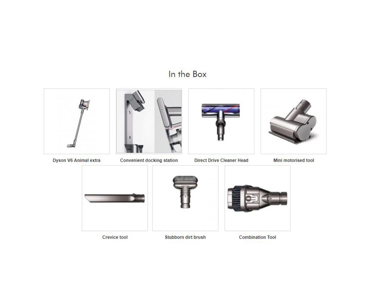 Dyson V6 Animal Extra Cordless Handstick Vacuum Cleaner