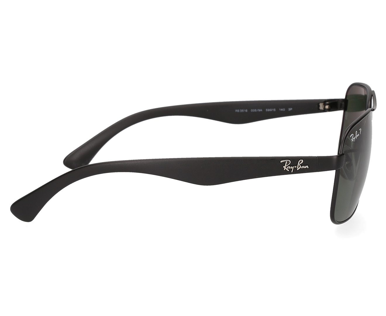 d2395d990ee Ray-Ban RB3516 Polarised High St Sunglasses - Black Green