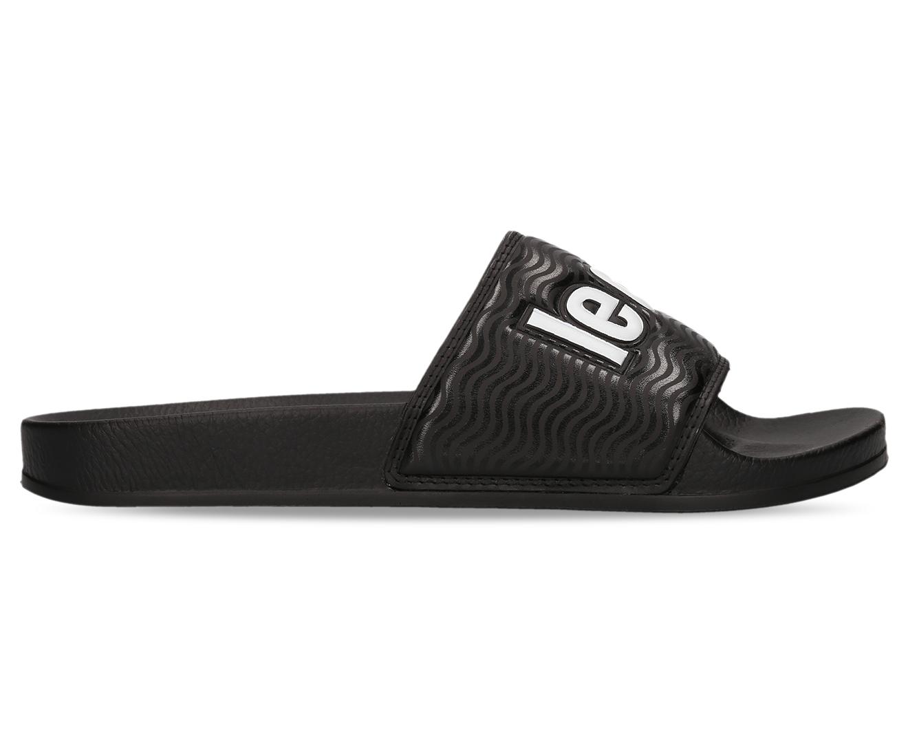 d644af1ce6f5 Le Coq Sportif Slide Sport Sandals - Black